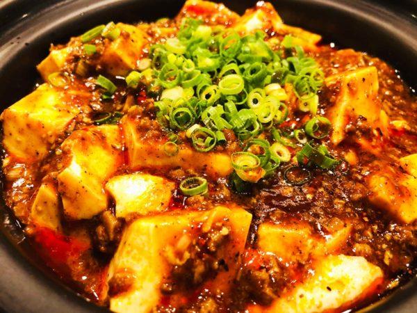 一番人気の本格マーボー豆腐