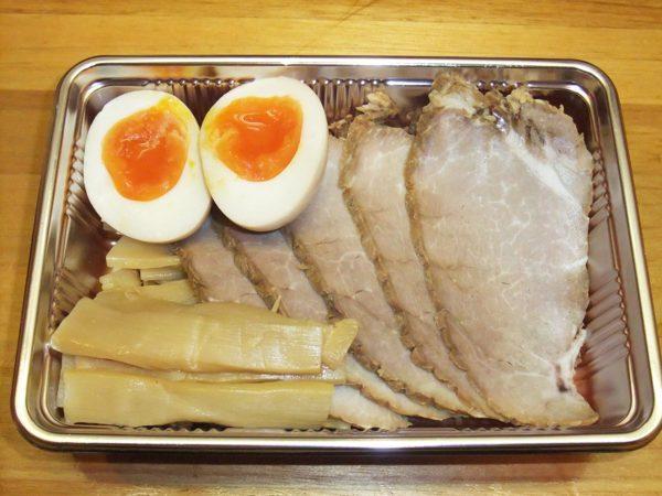 チャーシュー・メンマ・煮卵3点盛